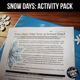 SNOW DAYS: 6+ Themed ELA Activities {Nonfiction, Poetry, S