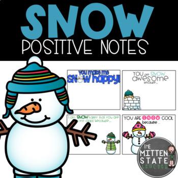 Snow / Winter Positive Notes