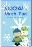 SNOW Much Fun with Math and ELA Centers