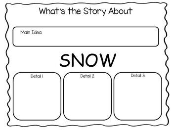 SNOW   by Uri Shulevitz 41 pgs Common Core Activities