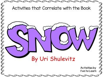 Snow Uri Shulevitz Worksheets Teaching Resources Tpt