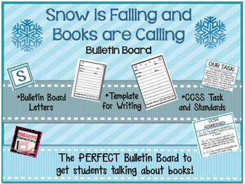SNOW is Falling and Books are Calling - Winter Book Review Bulletin Board