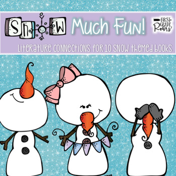 """""""SNOW"""" much Fun!-Activities to go with 10 Different Snow Themed Books!"""
