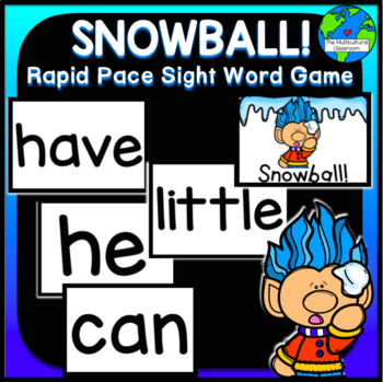 SNOWBALL! Rapid Pace Sight Word Game