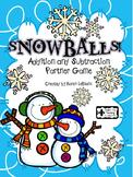 SNOWBALLS - Addition & Subtraction