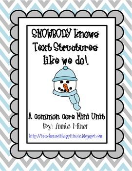 SNOWBODY Knows Text Structures like we Do! A Common Core M