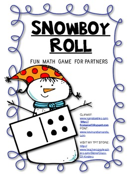 SNOWBOY Roll (Partner Math Game) of Composing Numbers