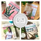 SNOWDAY Creative Magazine for Teachers: BUNDLE Issues 1-4