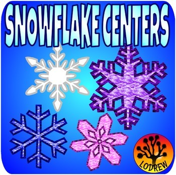 Snowflake Centers Winter Centers Activities Size Sorting Literacy Alphabet