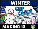 WINTER ACTIVITIES KINDERGARTEN (SNOWMAN MATH CENTER) MAKIN