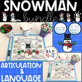 #JAN2019SLPMUSTHAVE SNOWMAN ACTIVITY MATS BUNDLE (ARTICULA