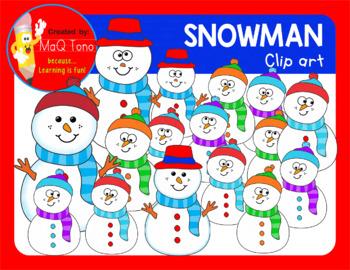 SNOWMAN CLIPARTS