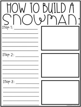 SNOWMAN CRAFT and Bulletin Board