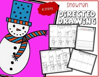 SNOWMAN Drawing Bundle