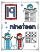 SNOWMAN Math - Numbers 11 - 20