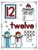 SNOWMAN Math - Number Posters 0 - 20 {BUNDLE}