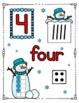 SNOWMAN Math - Numbers 0 - 10