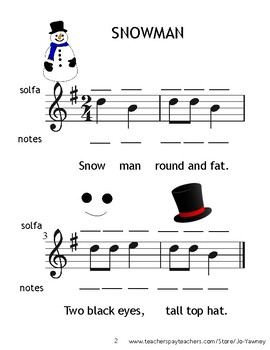SNOWMAN ROUND AND FAT