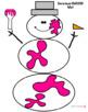 SNOWMAN SMOOSH Playdoh Mats Christmas/Winter