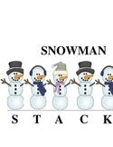 SNOWMAN STACK-O:  A Syllabication Game