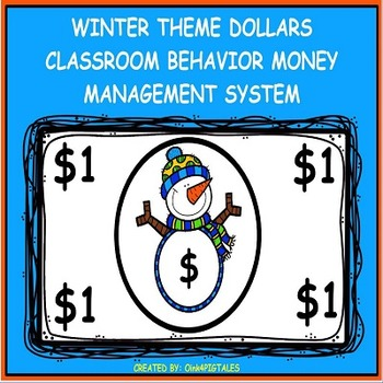 SNOWMEN to ENCOURAGE CHARACTER EDUCATION in the CLASSROOM and BEHAVIOR