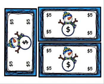 Snowmen Character Education Behavior and Rewards