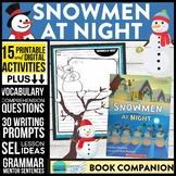 SNOWMEN AT NIGHT read aloud lessons book companion