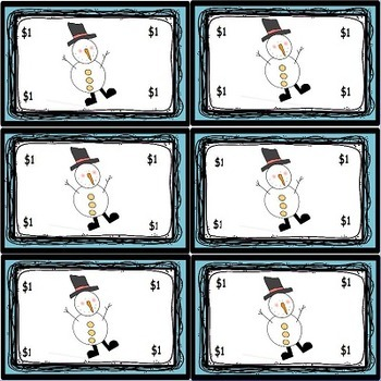 Winter Snowmen Posters Name Plates and Character Education set
