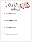 S.O.A.P. Bible Study