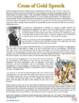 SOAP Cross of Gold Speech Analysis Worksheet