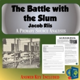 Battle with the Slums Worksheet- Jacob Riis SOAP