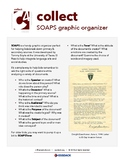 SOAPS Graphic Organizer / Collect C4 Social Studies Cards