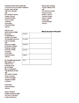 SOAPSTONE POETRY ANALYSIS - Some Clouds by Steve Kowit / Maya Angelou