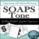 Gallery Walk Posters & Graphic Organizer for SOAPSTone Pre