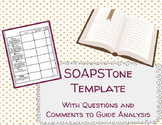 SOAPSTone Worksheet Template