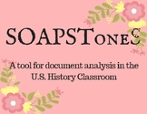 SOAPSToneS: A Tool for Document Analysis in the Classroom