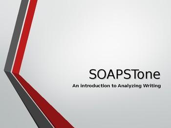 SOAPStone Presentation