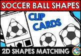 SOCCER BALL SHAPES CENTER (KINDERGARTEN GEOMETRY ACTIVITIES)