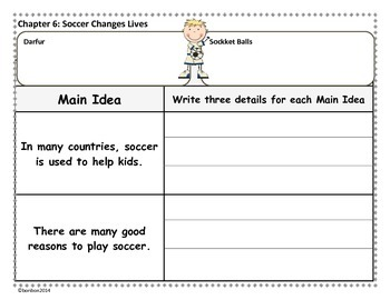 SOCCER - MTH Fact Tracker - nonfiction story study