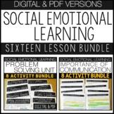 SOCIAL EMOTIONAL LEARNING BUNDLE Digital Learning, Seconda
