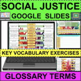 SOCIAL JUSTICE Anti-Racist Glossary Vocabulary GOOGLE SLID