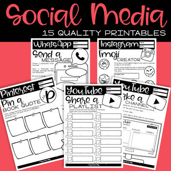 SOCIAL MEDIA ACTIVITIES FOR ANY BIOGRAPHY