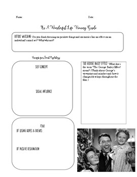 SOCIAL PSYCHOLOGY 'It's A Wonderful Life' Movie Guide