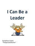 SOCIAL SKILLS BOOKS: I Can Be a Leader