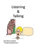 SOCIAL SKILLS BOOKS: Listening & Talking