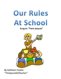 SOCIAL SKILLS BOOKS: Our Rules At School