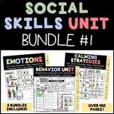 SOCIAL SKILLS BUNDLE (Behavior, Emotions, Calming Strategi