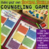 SOCIAL SKILLS Counseling Game: Conflict Resolution, I-Messages, Empathy, Friends