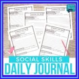 No Prep Social Skills Daily Journal