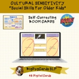 Cultural Sensitivity BOOM CARDS for Social Skills Classrooms